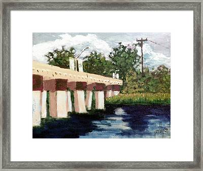 Old Bridge Street Bridge Framed Print