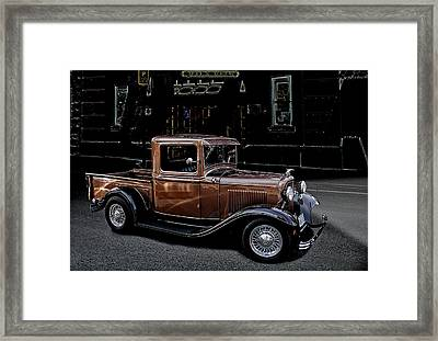 Old Brown Framed Print