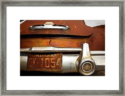 Old Buick Framed Print by Mark Weaver