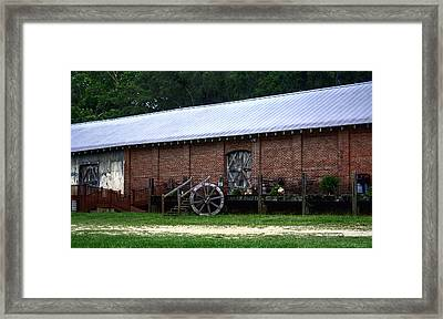 Old Building  Framed Print by Debra Forand