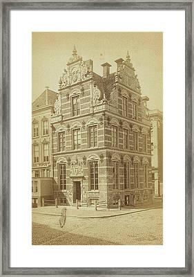 Old Building In Groningen, The Netherlands Framed Print