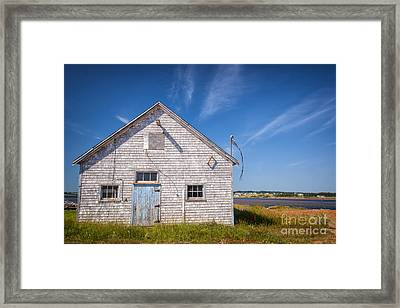 Old Building In North Rustico Framed Print by Elena Elisseeva