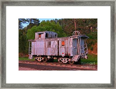 Old But Not Forgotten Framed Print by John Malone