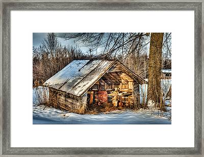 Old But Not Forgotten Framed Print by Paul Freidlund