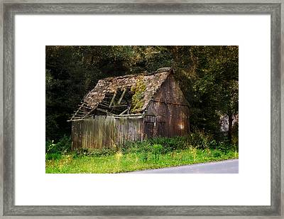 Old Cabin Magic Framed Print by Pati Photography