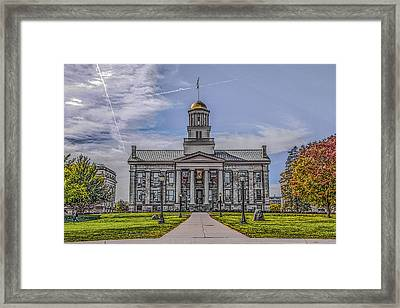 Old Capitol Framed Print
