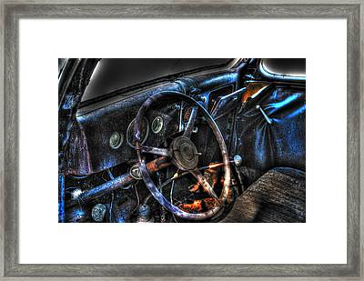 Old Car 02 Framed Print by Andy Savelle