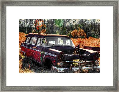 Old Car 03 Framed Print by Andy Savelle