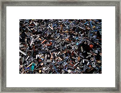Old Car Badges Framed Print by Phil 'motography' Clark