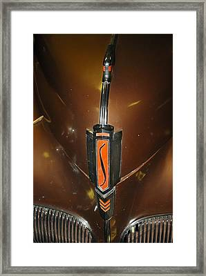 Old Car Front 6 Framed Print by T C Brown