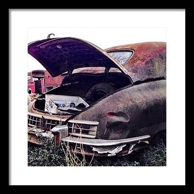 Vintage Cars Framed Prints