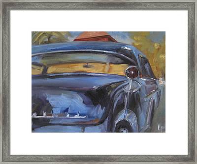 Old Car Framed Print by Lindsay Frost