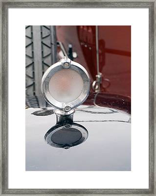 Old Car Logos Framed Print by Odon Czintos