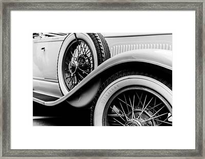 Old Car Framed Print by Mauro Marzo
