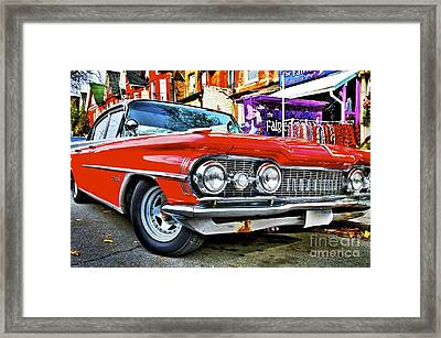Framed Print featuring the photograph Old Car by Sarah Mullin