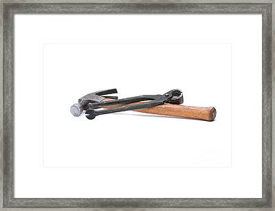 Old Carpenters Tools Framed Print by Stephen Baker