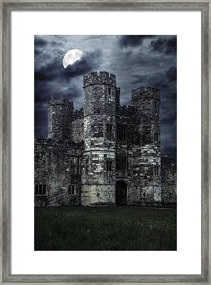 Old Castle At Night Framed Print by Joana Kruse