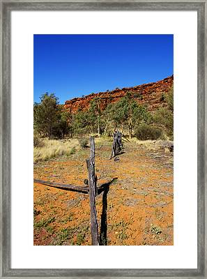 Old Cattle Station Framed Print