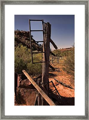Old Cattle Station V2 Framed Print