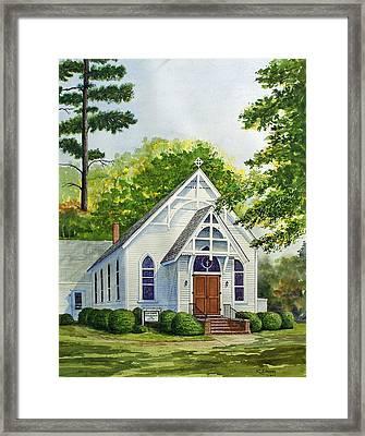 Old Centenary Methodist Church Framed Print