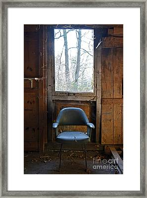 Old Chair Framed Print