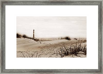 Old Charleston Harbor Framed Print by Skip Willits