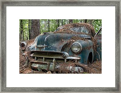 Old Chevy Framed Print
