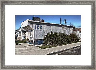 Old Chino Ice House Framed Print by Gregory Dyer