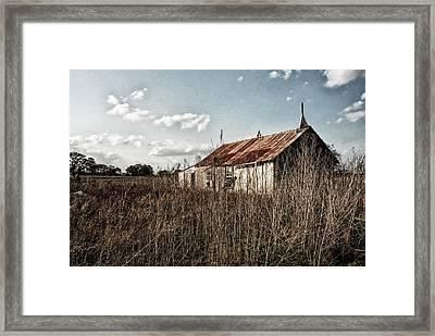 Old Church At Muldoon Framed Print