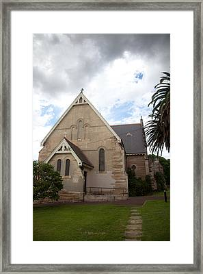Old Church Framed Print by Carole Hinding