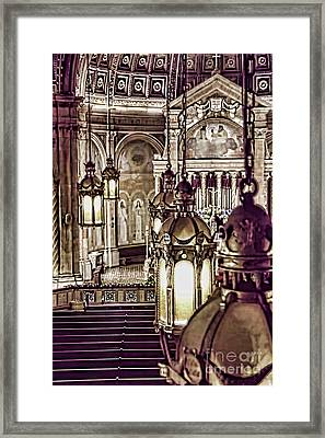 Framed Print featuring the photograph Old Church by Jim Lepard