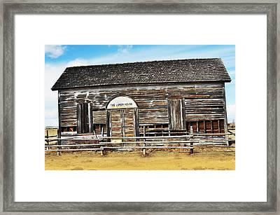 Old Church Framed Print by Kae Cheatham