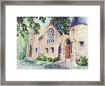 Old Church Framed Print by Svetlana Howe