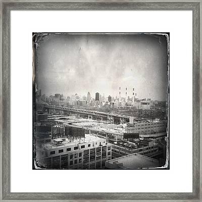 Old City 2 Framed Print by H James Hoff