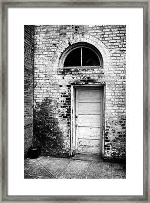 Old City Doorway Framed Print