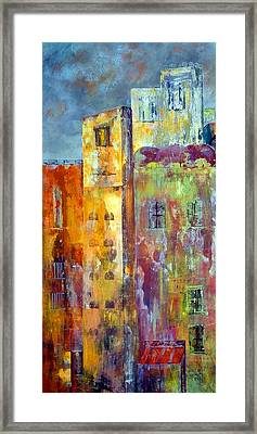 Old City East Framed Print
