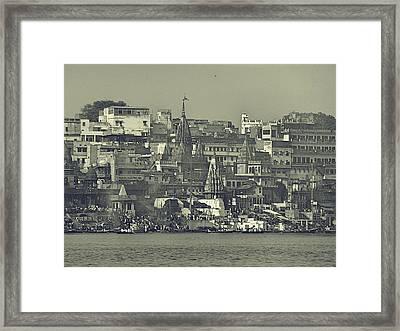Old City Framed Print by Girish J
