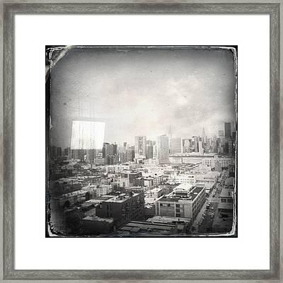 Old City Framed Print by H James Hoff
