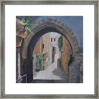 Old City Framed Print