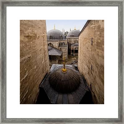 Old City Of Istanbul Framed Print by Artur Bogacki