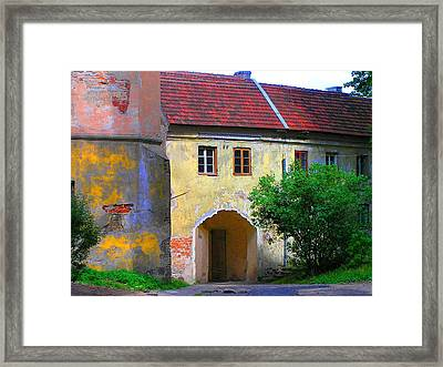 Old City Framed Print by Oleg Zavarzin