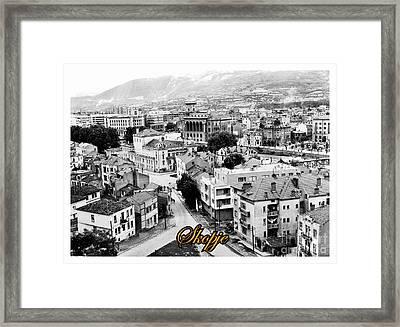 Old World Skopje Framed Print by Norman Gabitzsch