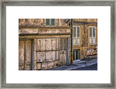 Old Clamecy Framed Print