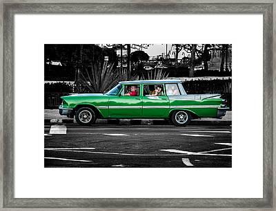 Old Classic Car II Framed Print