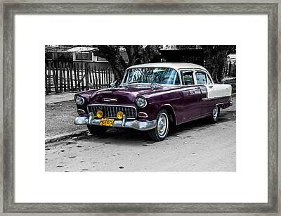 Old Classic Car Iv Framed Print