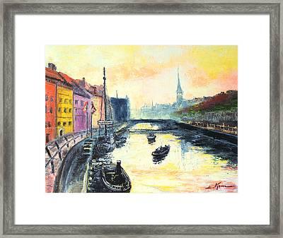 Old Copenhagen Framed Print