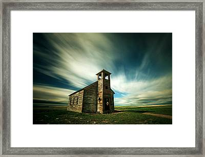Old Cottonwood Church Framed Print by Todd Klassy