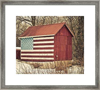 Old Country America Framed Print by Trish Tritz