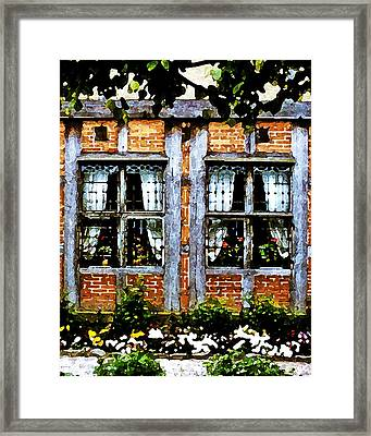 Old Country Charm Framed Print by Gerlinde Keating - Galleria GK Keating Associates Inc