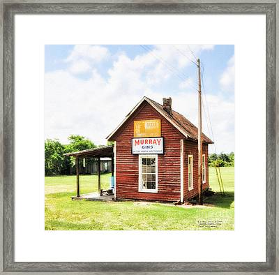 Old Country Cotton Gin Store -  South Carolina - I Framed Print